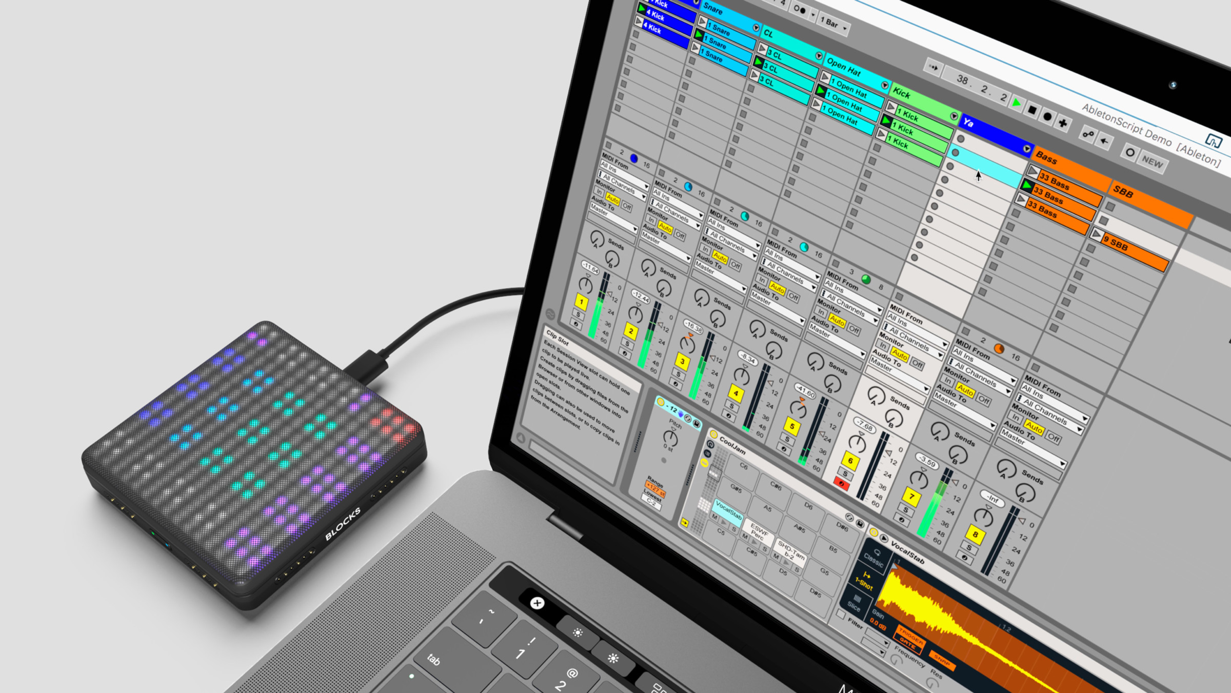 Ableton Live Lite: Now integrated with all Lightpad blocks | ROLI