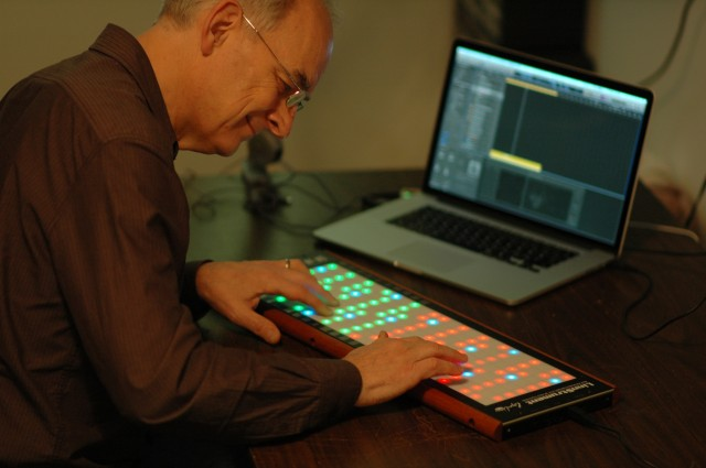 Roger Linn at the Linnstrument