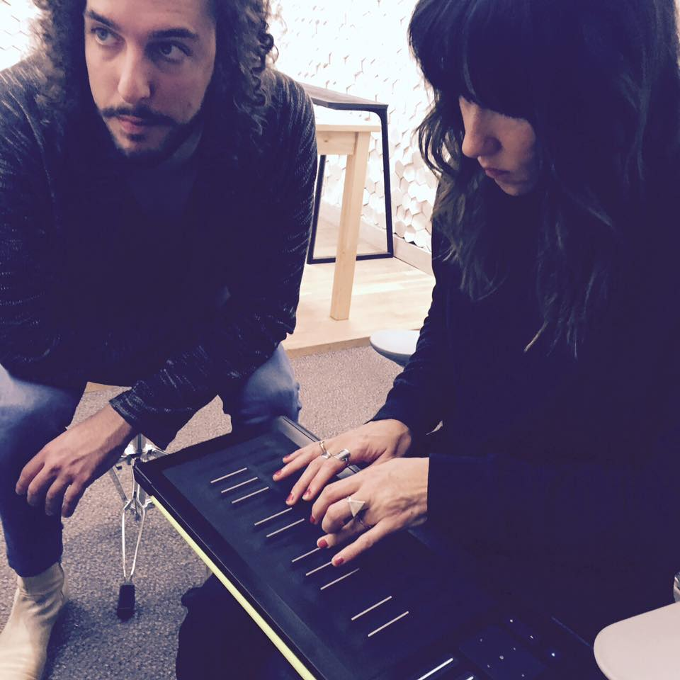 KT Tunstall gets Seaboard RISE 25