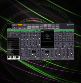 Image of the Cypher2 synth user interface