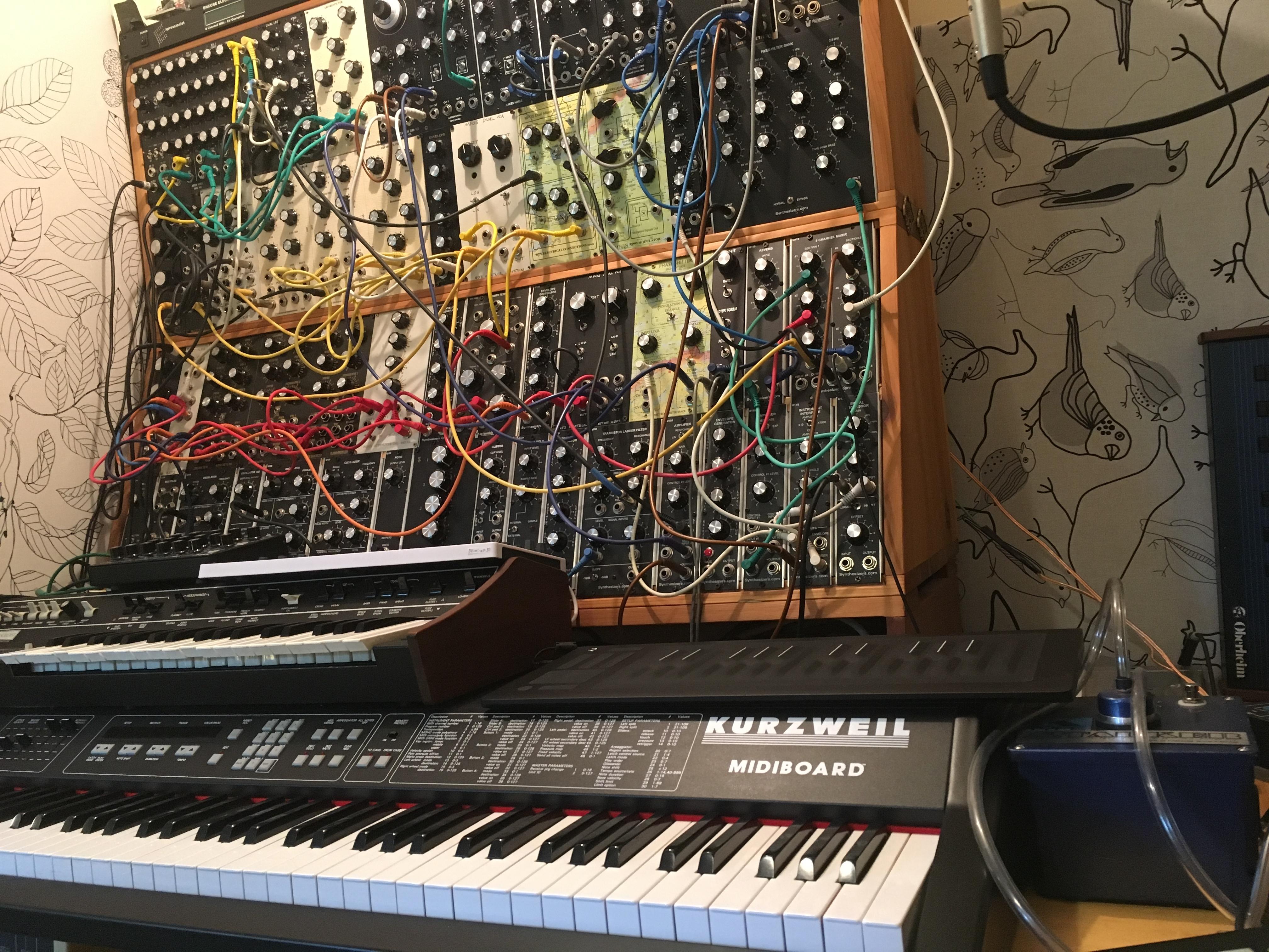 RJD2 studio RISE 25