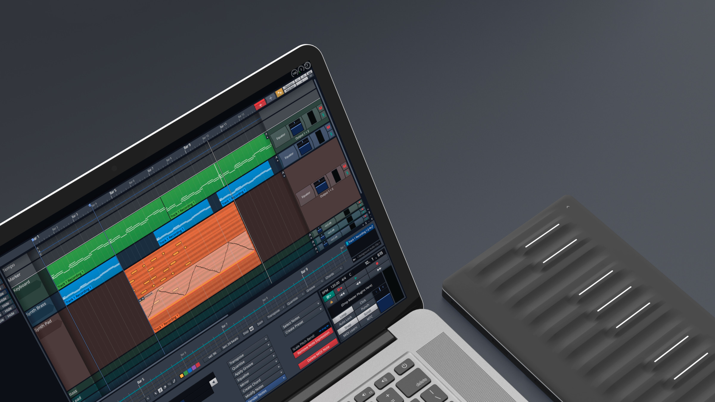 Explore Tracktion Waveform: now free with all Seaboards | ROLI