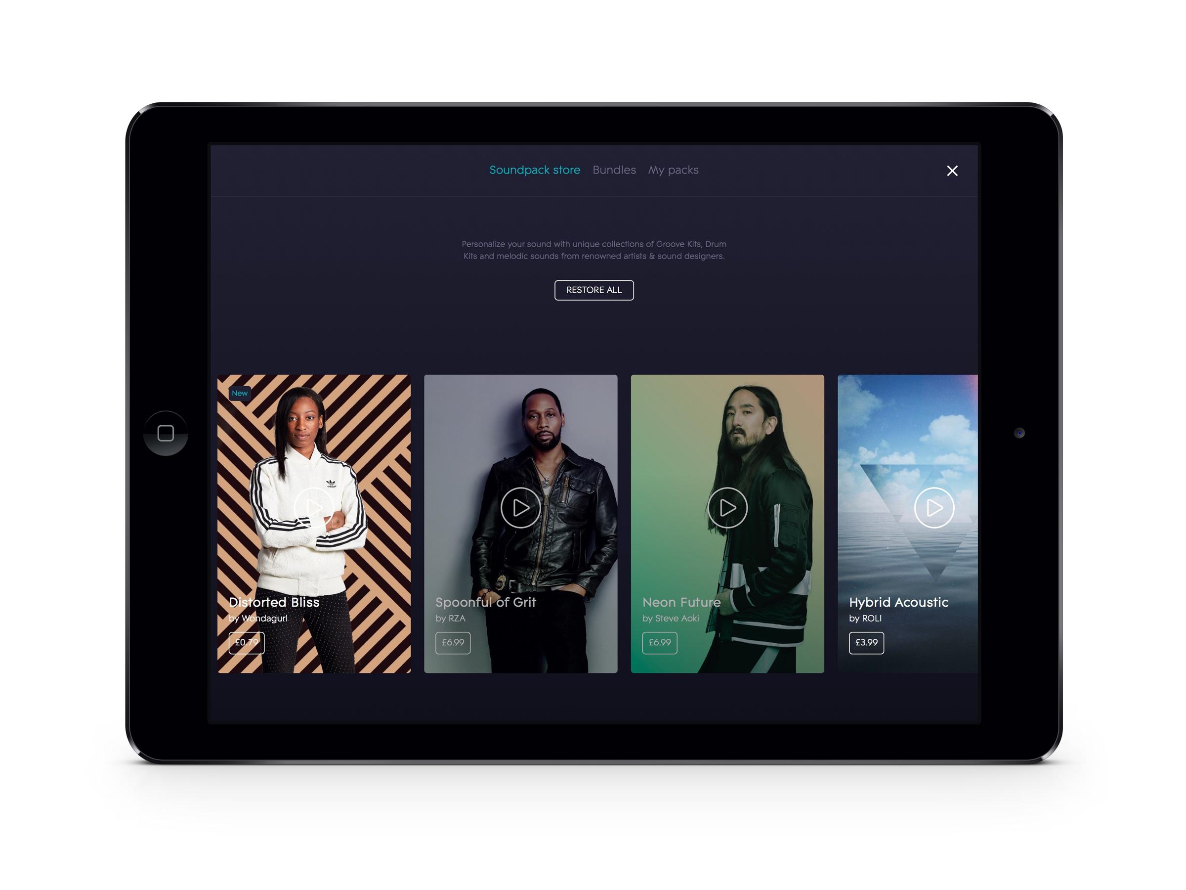 WondaGurl blog iPad Soundpack Store image