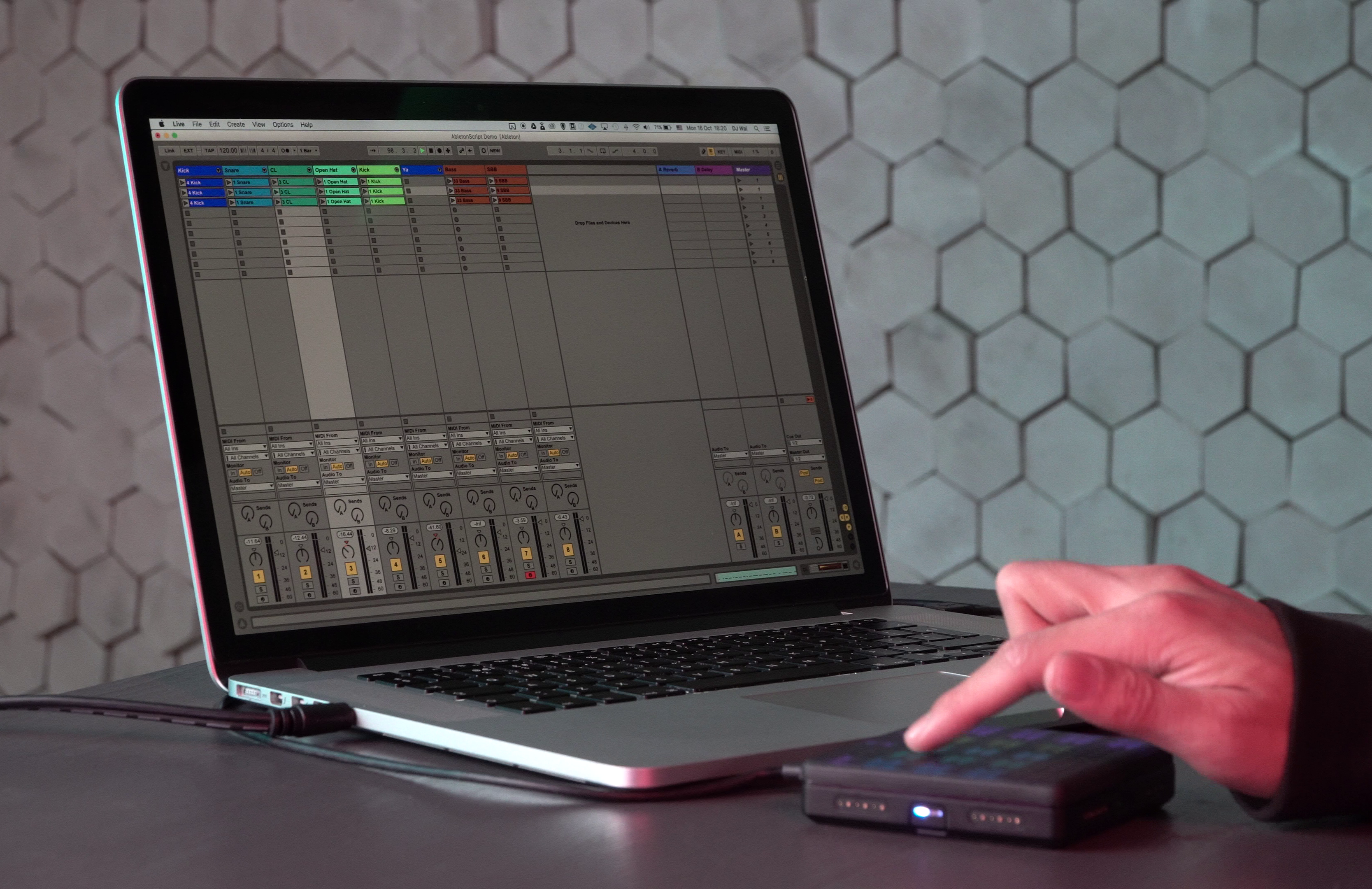 Ableton Lite Lite with Lightpad Block